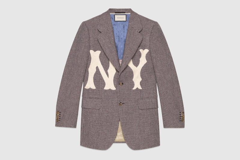 8316496e7cf NY Yankees x Gucci Release Apparel and Backpacks