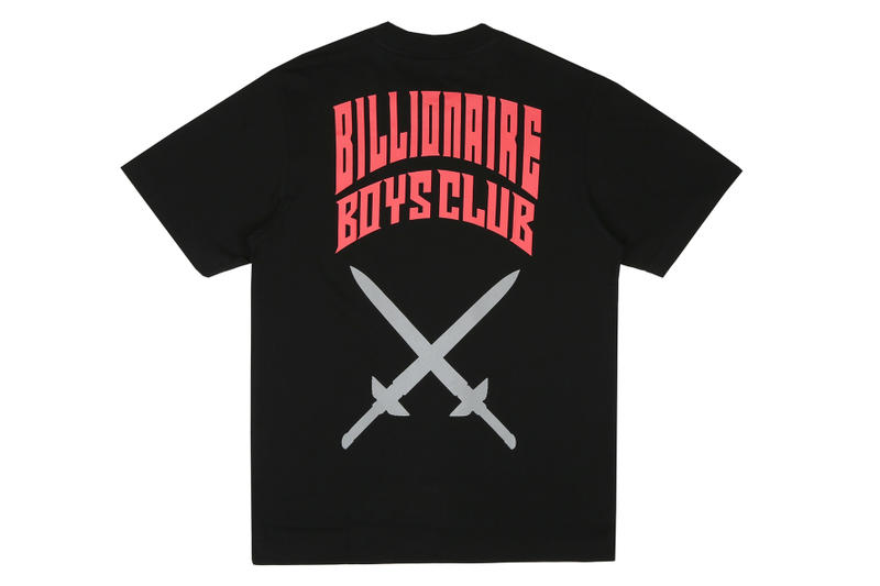 Octavian x Billionaire Boys Club Tee Collab Collaboration Collection T-Shirt Black Colorway 2018 Cop Purchase Buy Virgil Abloh Logo Spaceman