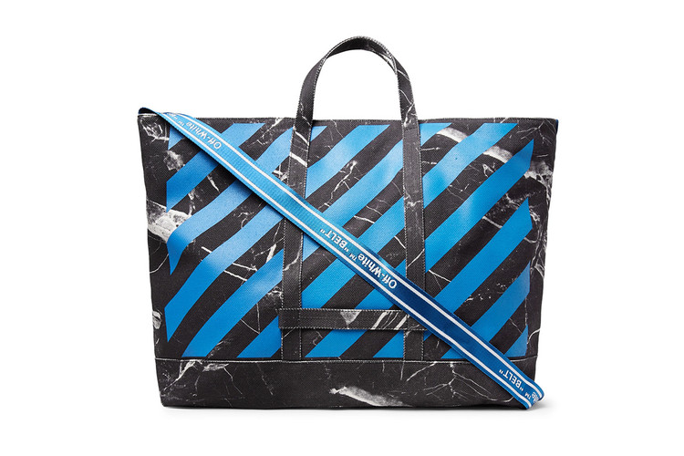 9166dd9eae0f Off-White™ s MR PORTER-Exclusive Tote Bag Is Now Available
