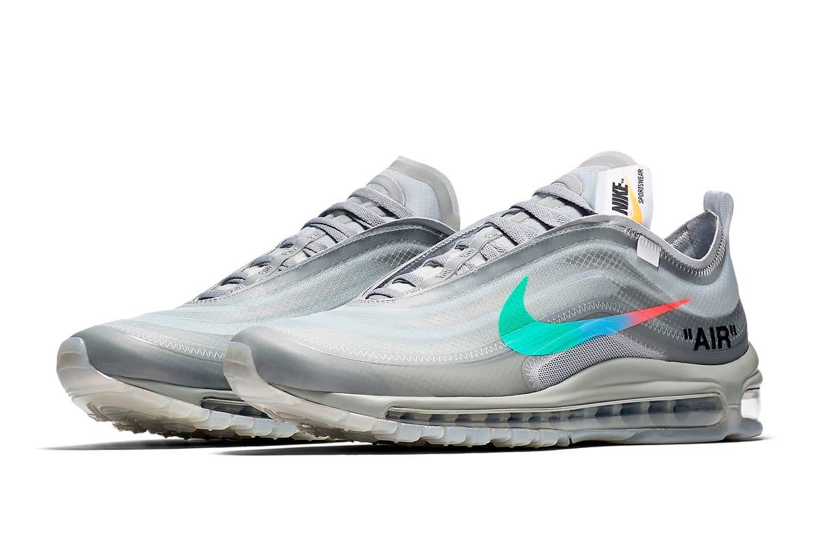 """Off-White x Nike Air Max 97 """"Menta"""