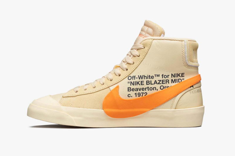 Off White Nike Blazer Spooky Pack Official Pics grim reaper All Hallows Eve leak release date drop virgil abloh collaboration
