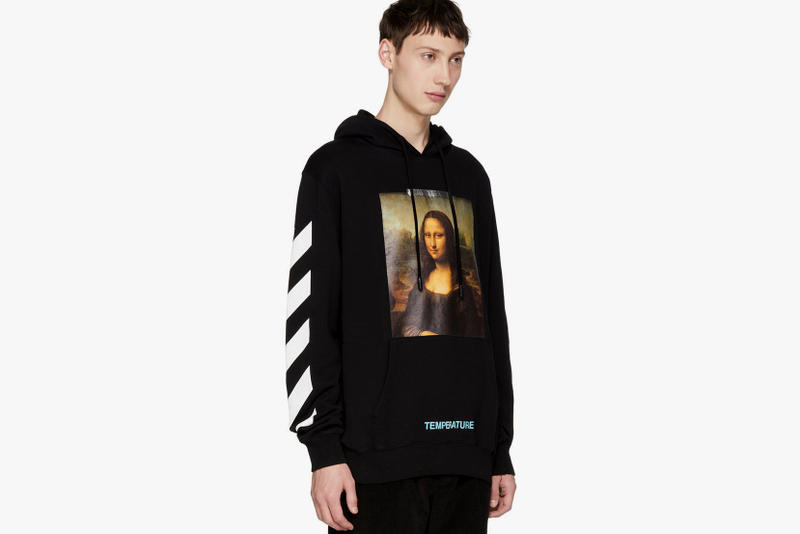ssense off white mona lisa hoodie fashion virgil abloh 2018 september black