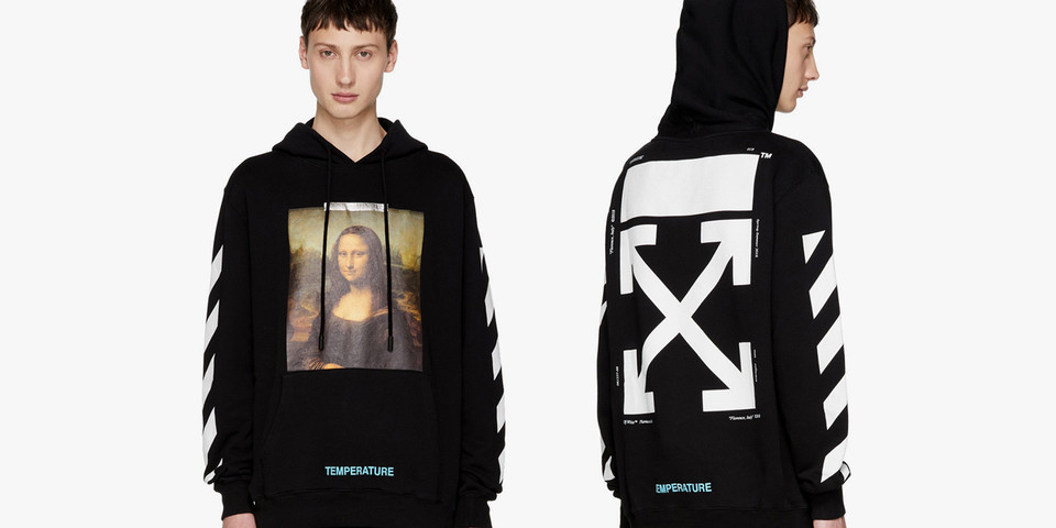 SSENSE Exclusive Off-White™ Mona Lisa Hoodie | HYPEBEAST