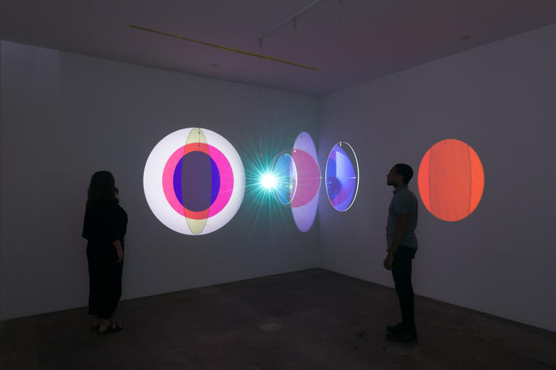 olafur eliasson the speed of your attention Tanya Bonakdar Gallery artworks art installations mixed media works