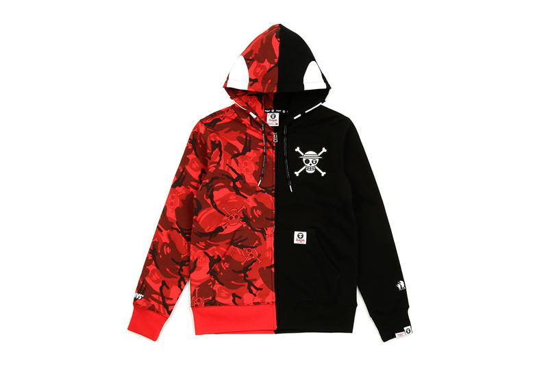 0dcfaf9900cd0 one piece bape aape collaboration collection fall winter 2018 september 28  release details buy sell luffy. 1 of 15