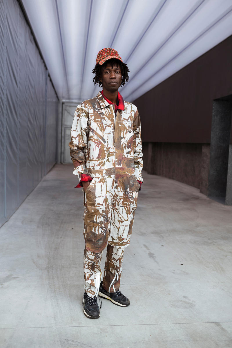 Josh Smith P.A.M. Capsule Collection Perks and Mini Stop Urban Camo T shirt Jacket Coat Pants Overalls Artist