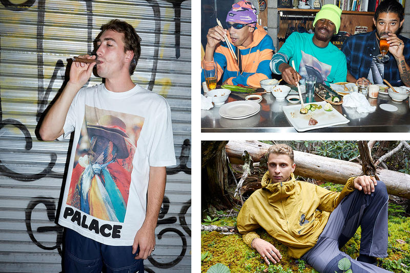 Palace Skateboards London Winter 2018 Lookbook Clothing Fashion Cop Purchase Buy Blondey McCoy Lucien Clarke Rory Milanes Juergen Teller