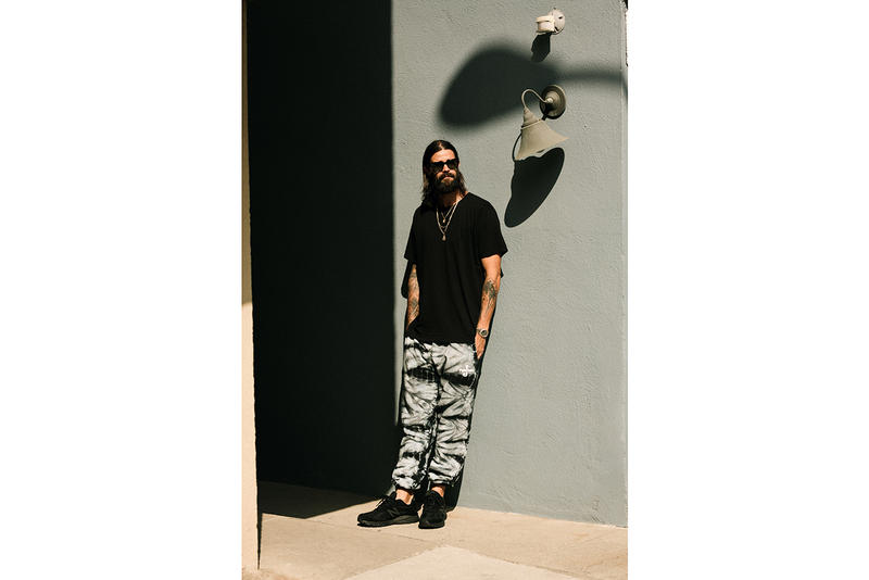 Paterson JSP Marble-Dyed Sweatpants Capsule release info jimmy sweatpants brock korsan