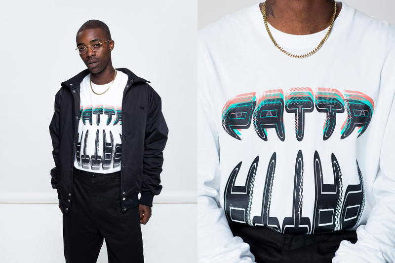 Patta Fall/Winter 2018 Lookbook Vincent Van De Waal London Amsterdam Menno Kok Release Information Tracksuit T-shirts Graphics Mitchell & Ness Jackets