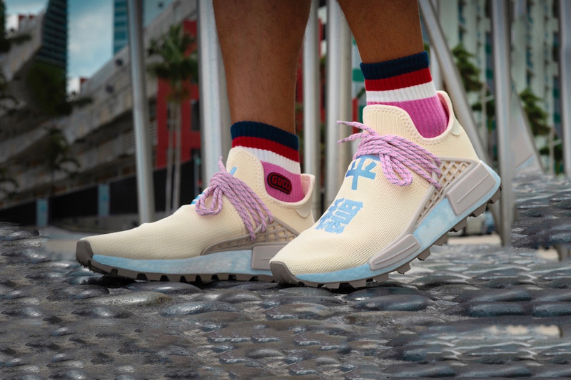 c91071d68376 An On-Foot Look at the Latest Pharrell x adidas Originals NMD Hu ...