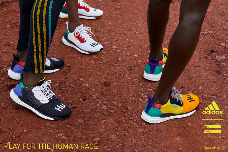 adidas Pharrell Williams SOLARHU Running Shoe Campaign Sneakers Kicks Trainers Shoes Footwear Cop Purchase Buy Available Running East Africa HU