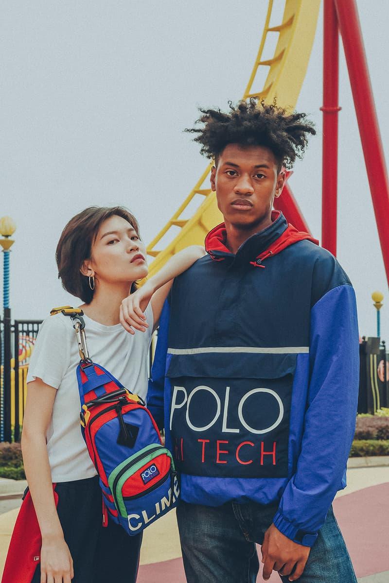 Polo Ralph Lauren Hi Tech Collection Reboot HBX Hong Kong Film Performance Sports