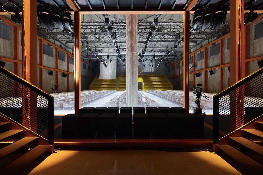 Prada Kazuyo Sejima Elizabeth Diller Cini Boeri Rem Koolhaas AMO Milan Pieces AMO Catwalk Installation