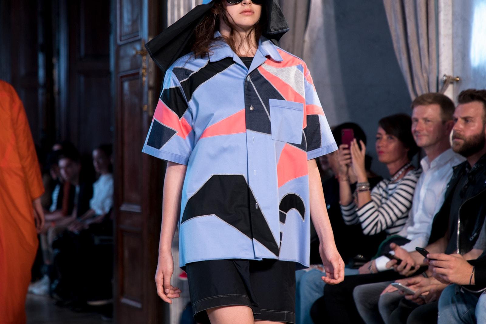 Prague Fashion Week Spring summer 2019 Collections best designers czech republic mercedes benz fashion week adam kost jan cerny Schepers Bosman Eva Papoušková