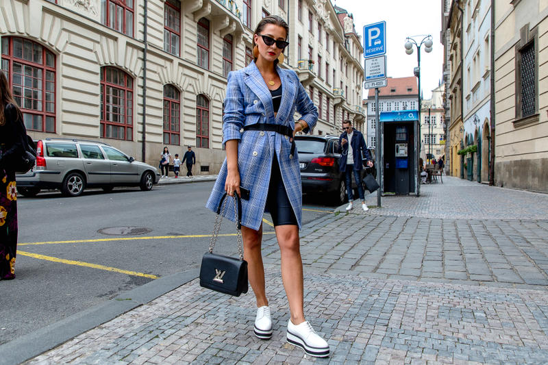 Prague Fashion Week Spring/Summer 2019 Street Style Mercedes-Benz Fashion Week vetements balenciaga