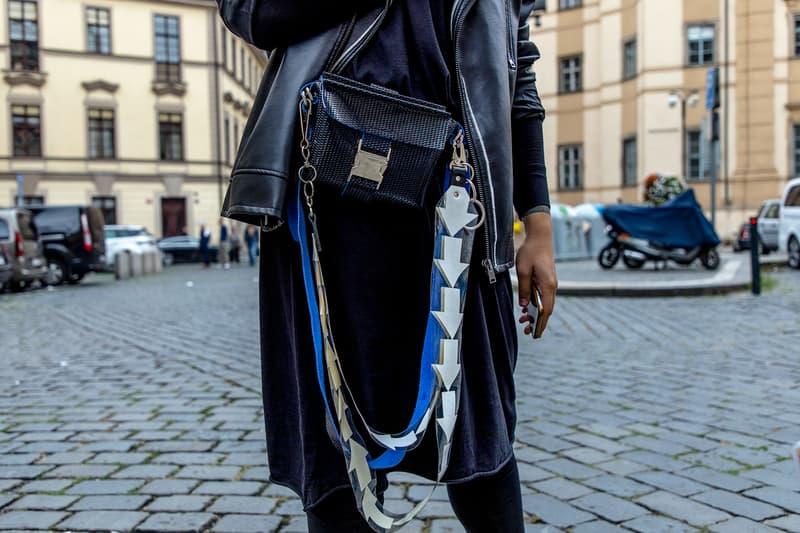 Prague Fashion Week Spring/Summer 2019 Street Style Mercedes-Benz Fashion Week vetements balenciaga