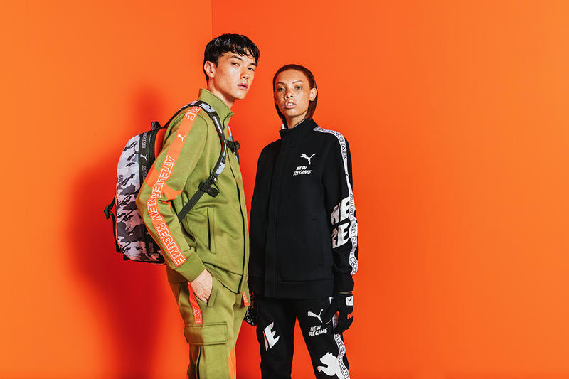 PUMA Atelier New Regime Fall Winter 2018 collection lookbook sneakers jackets tracksuits crewneck pullovers collaborations