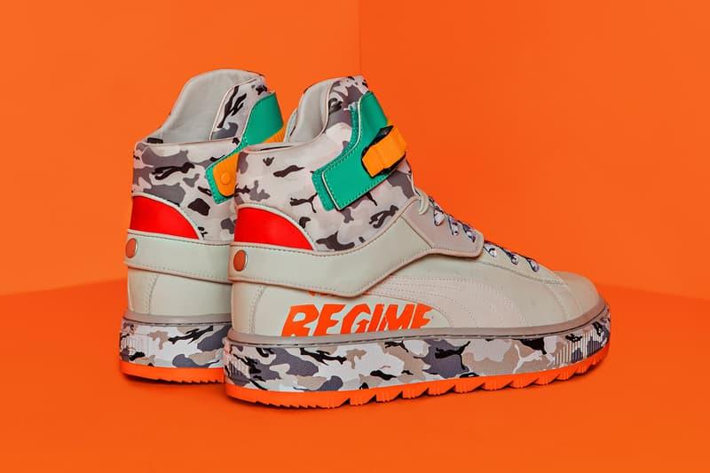 Atelier Regime PUMA Ren Boot ANR fall winter 2018 release info beige orange snow camo