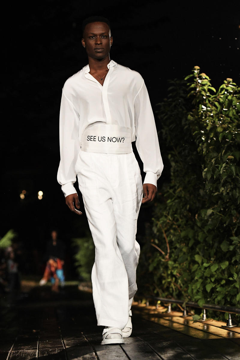 Pyer Moss New York Fashion Week Spring Summer 2019 Collection runway reebok fubu collaborations