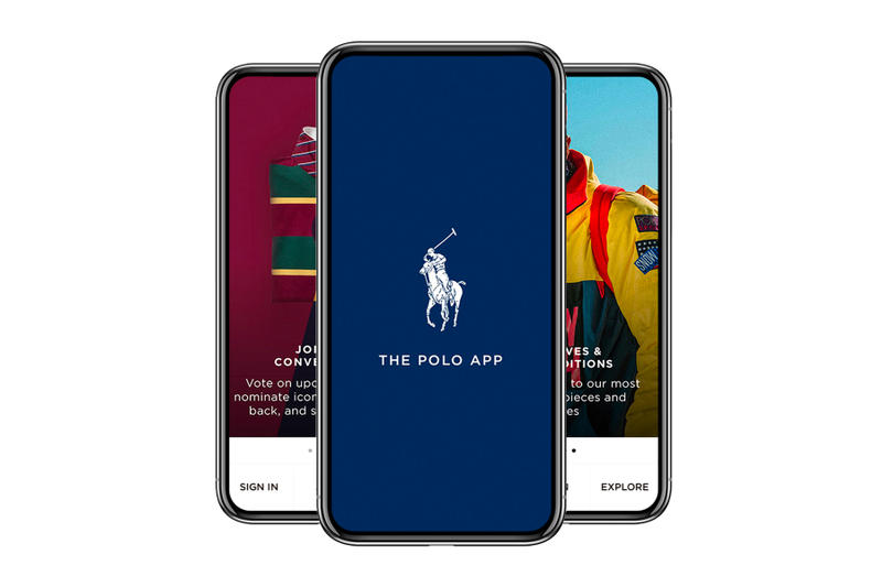 Ralph Lauren POLO App 50th Anniversary technology shopping exclusive content collections interviews
