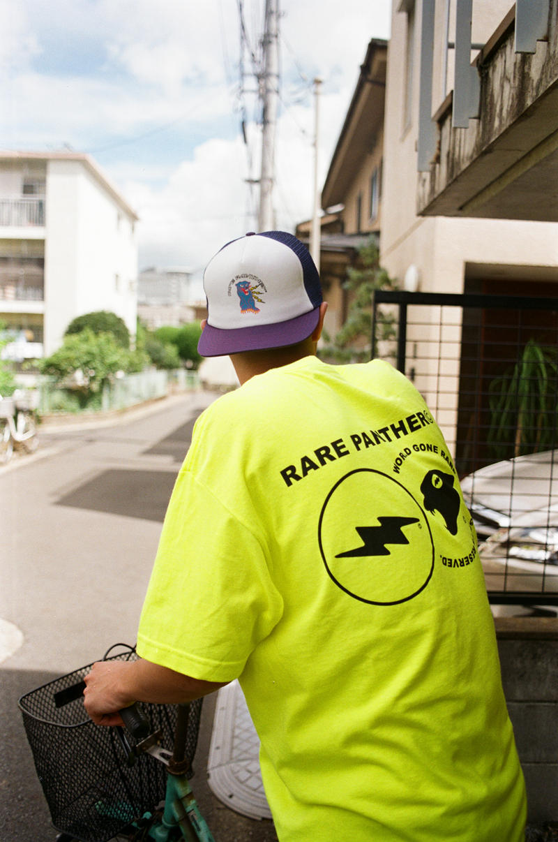 Rare Panther Act 012 Lookbook collection shirts hoodies hats release info