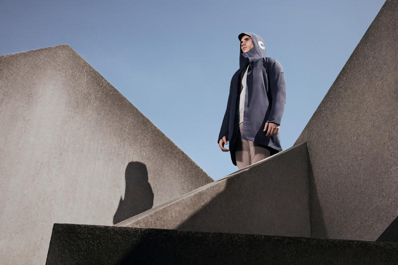 Redbull Debuts the AlphaTauri F/W '18 Collection trenches coats uk europe menswear womenswear essentials grey blue brown fashion fall winter 2018