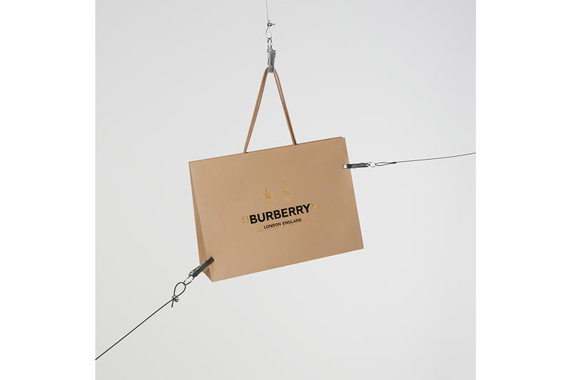 Riccardo Tisci Burberry First Collection Digital Release Limited Edition 24 hour Instagram WeChat