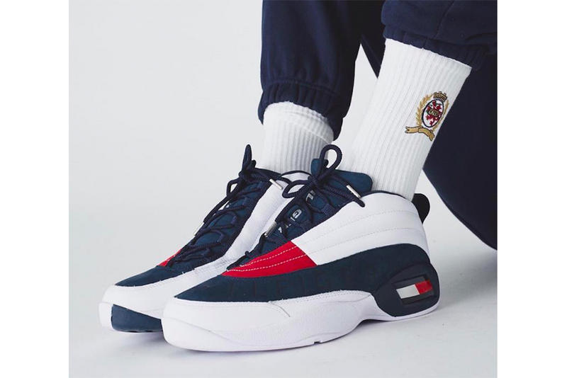Ronnie Fieg Kith Tommy Hilfiger Skew Teaser Release Date Red White Blue Kithset Athletics green
