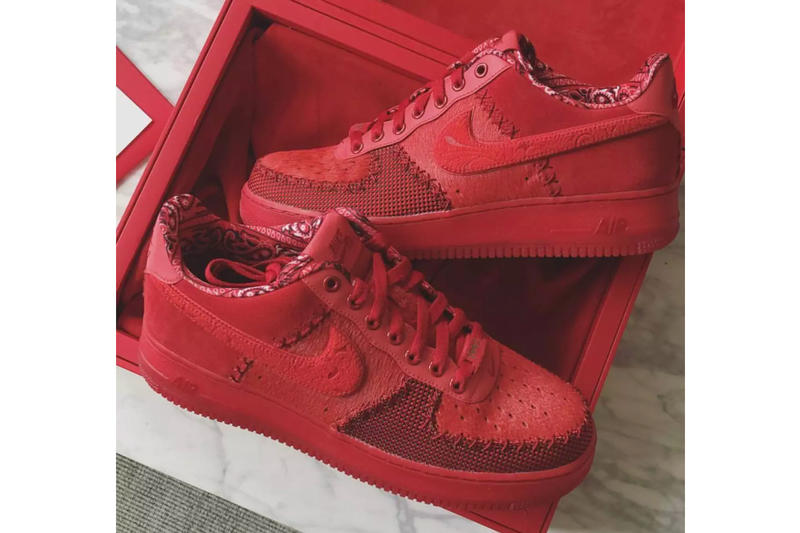 Ronnie Fieg kith Odell Beckham Jr.  Nike Air Force 1 Friends and Family nfl football new york giants