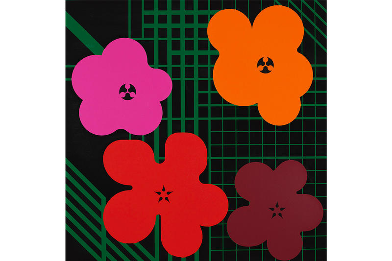 Ryan McGinness Warhol Flower Icons Exhibition Picasso Velásquez Lichtenstein Picassos Warhol MOMA NANZUKA Gallery Galleries Artwork Paintings Metropolitan Museum of Art Museum of Modern Art Virginia Museum of Fine Arts Museum of Contemporary Art