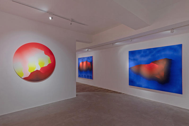 sam friedman flesh of the gods exhibition over the influence hong kong show paintings installations works