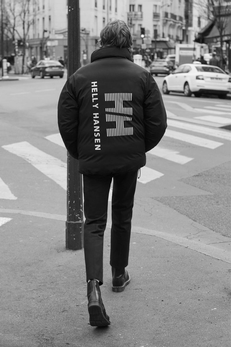 Sandro Homme x Helly Hansen FW '18 Collection hip-hop wu-tang redman rap culture '90s heritage norway paris tartan nyc new york city