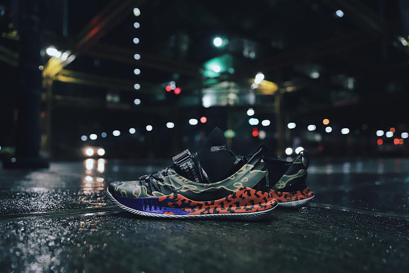 SBTG Limited Edt Custom Under Armour Curry 5 stephen curry asia tour sneakers baskteball