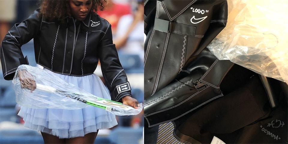 0401c39ddc Serena Williams Custom Off-White x Nike Jacket