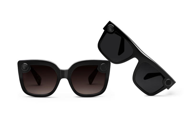 Snap chat spectacles 2 two veronica nico release September 5 2018 release date info buy purchase sell sale nordstrom neiman marcus black colorway men women silhouette glasses eyewear photograph black polarized lenses