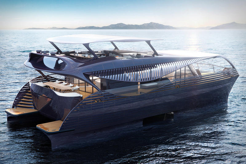 solarimpact electric yacht automotive architecture design boats ocean sea