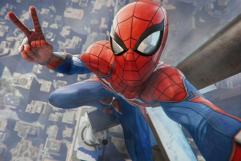 marvels spider man playstation 4 2018 entertainment video games