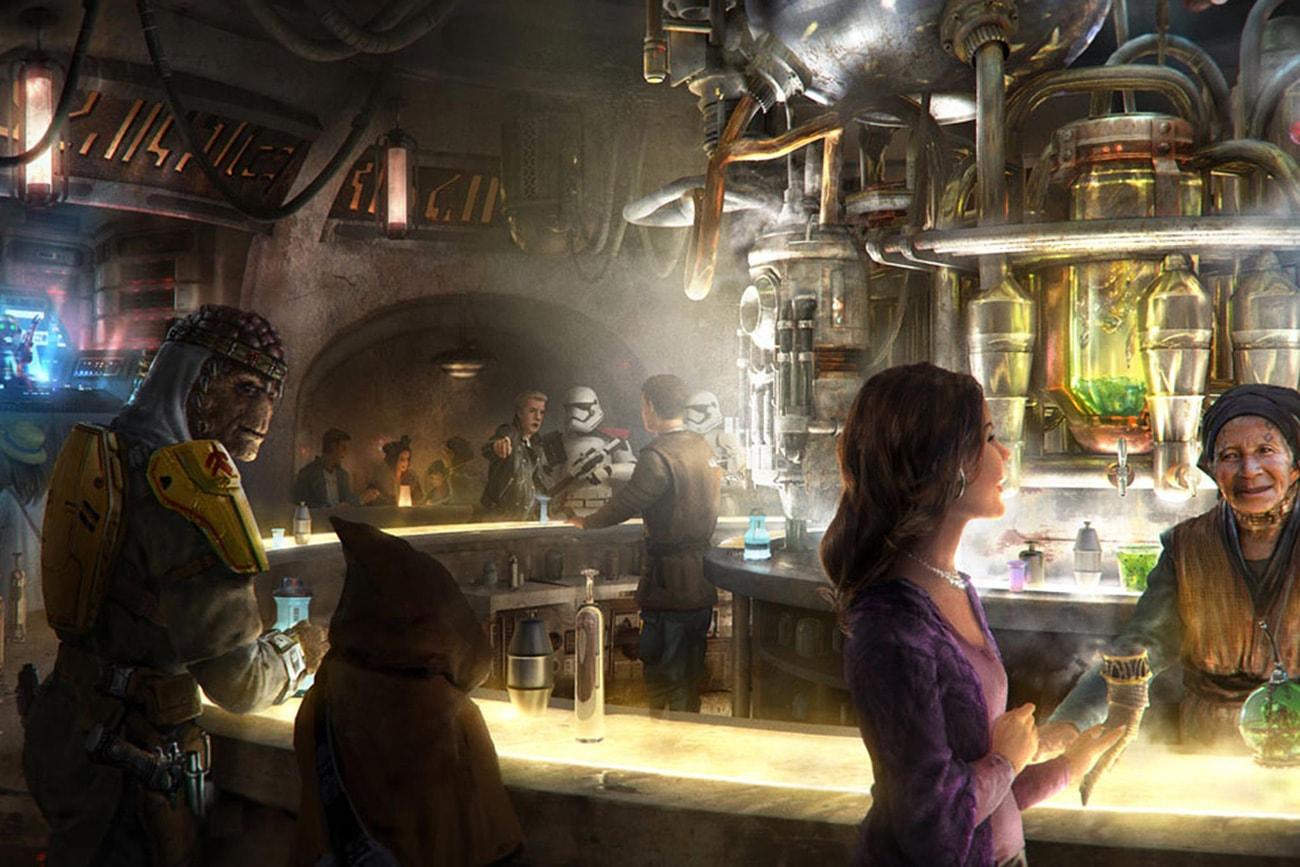 Новости Звездных Войн (Star Wars news): В павильоне «Звездных войн» Диснейленда будут продавать алкогольные напитки