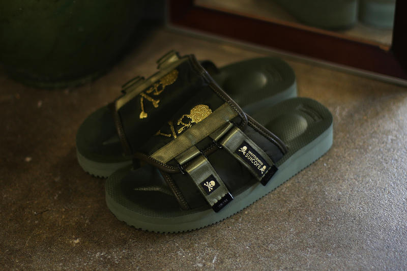 mastermind JAPAN SUICOKE KAW Olive Gold release info collaborations