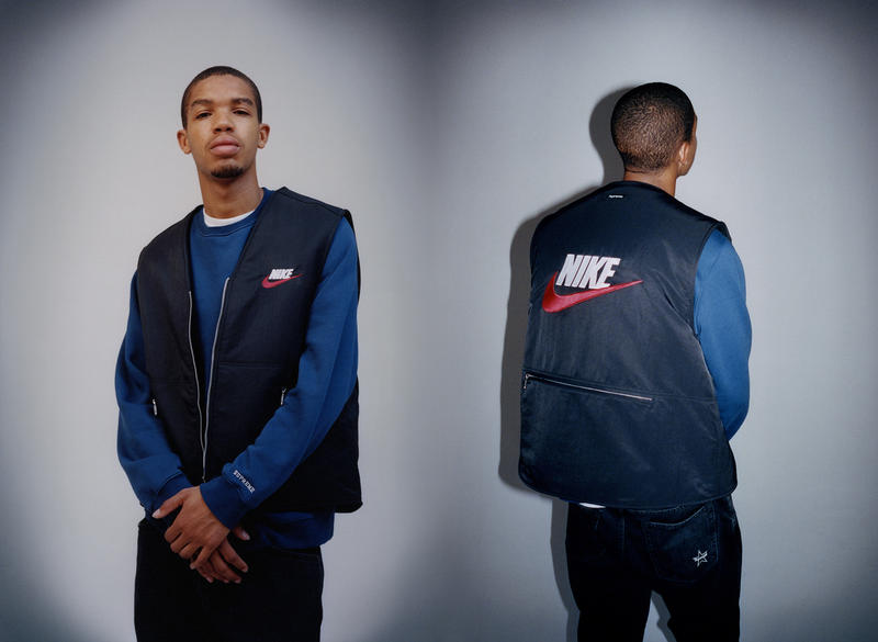 44c4af0f13e9 Supreme Nike Fall Winter 2018 Collection Info NSW NikeLab Supreme Vest  Jackets Sweat Suits earrings