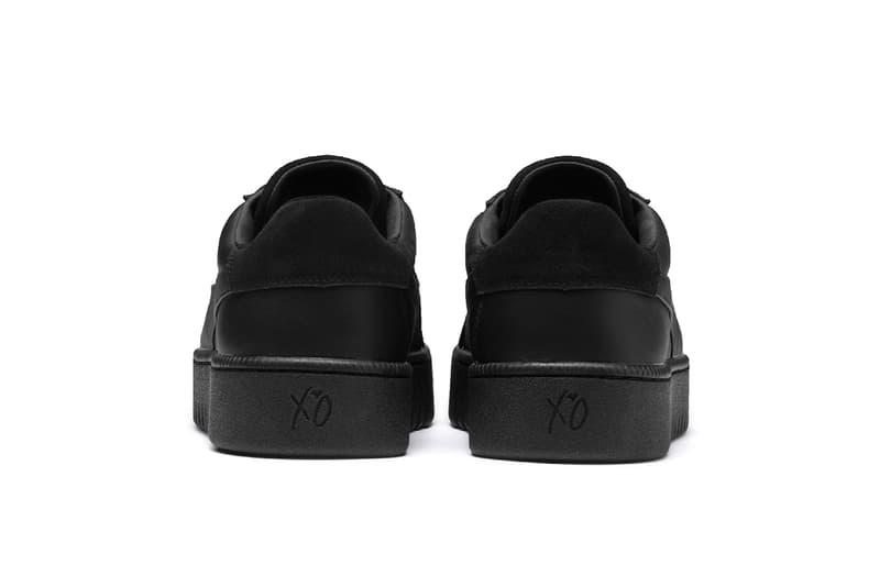 The Weeknd XO PUMA Terrain triple black release info sneakers collaborations