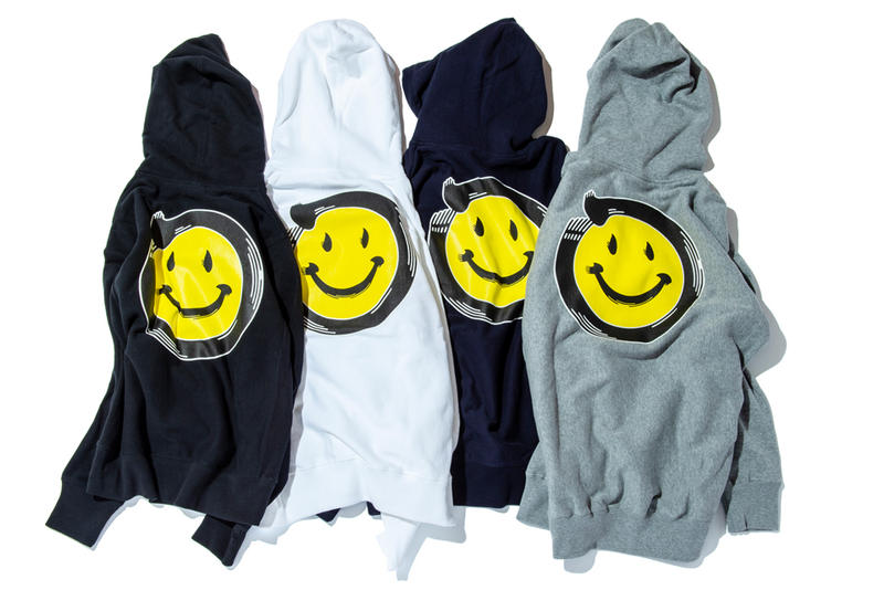 The Wolf in Sheep's Clothing Collection Four sneakerwolf hoodies jackets crewneck pullovers smily faces tie-dye Kanji-Graphy