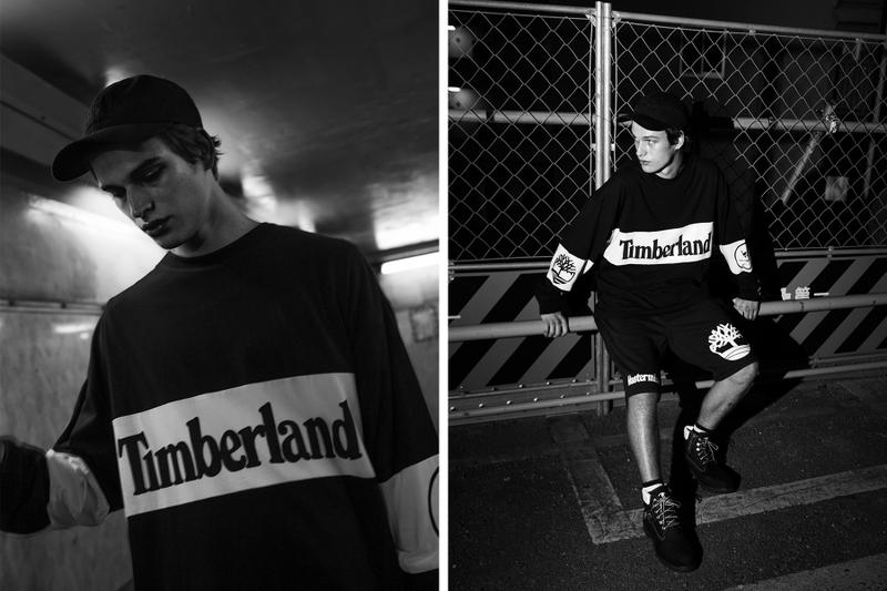 Timberland mastermind WORLD Fall Winter 2018 Capsule Collab Collaboration 6 inch Boot short long shorts sleeve T shirt sweat pants