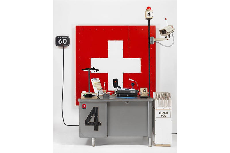 tom sachs swiss passport office frieze london art artist installations