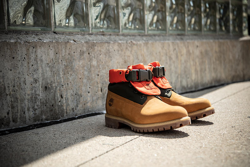 Timberlands Mixed Media Gaiter Boots Collection Hypebeast