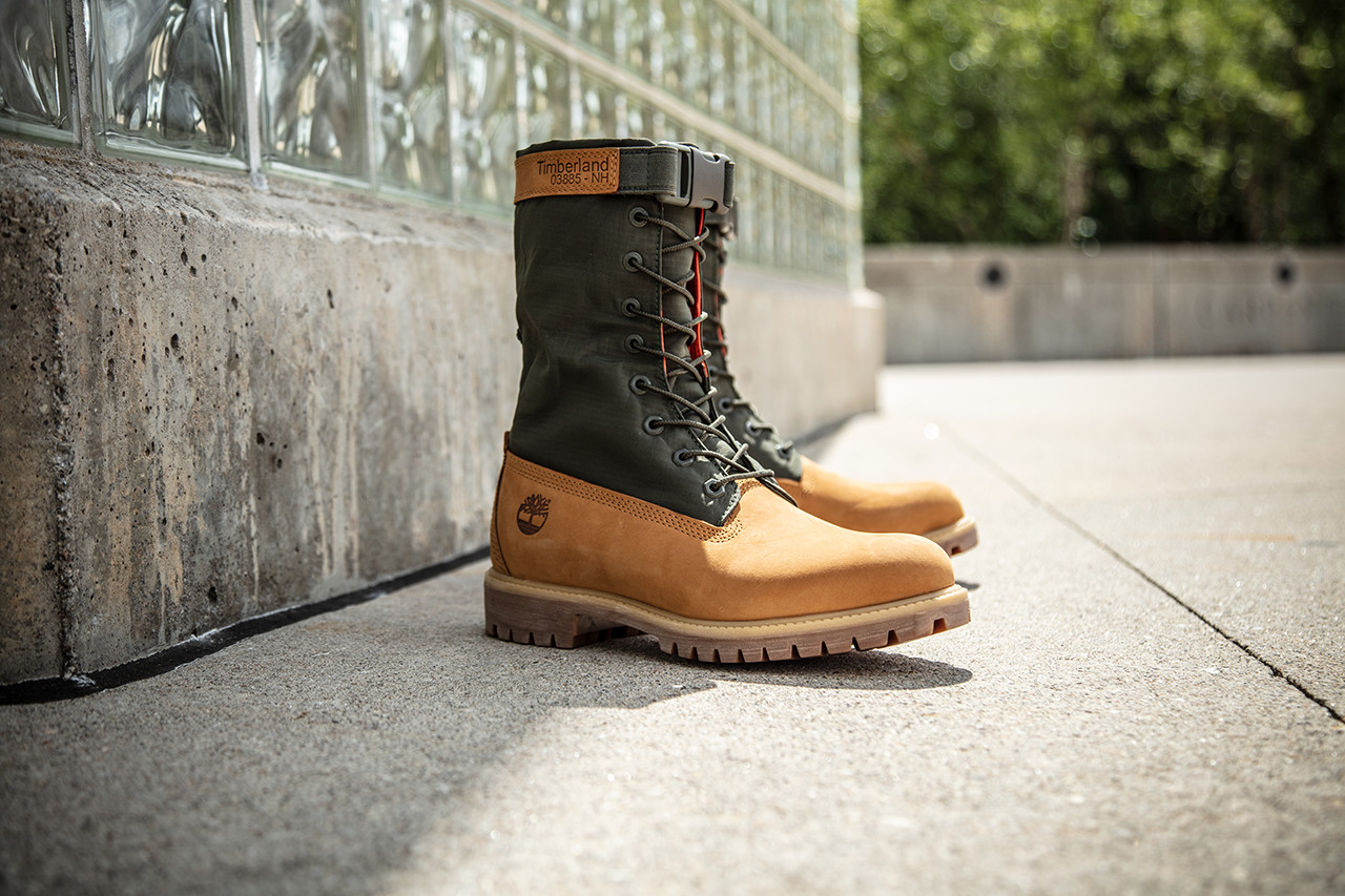Timberland's Mixed-Media Gaiter Boots