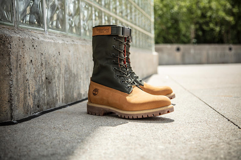 mixed media timberland 6 inch premium gaiter boots drop release details info september 28 2018 date