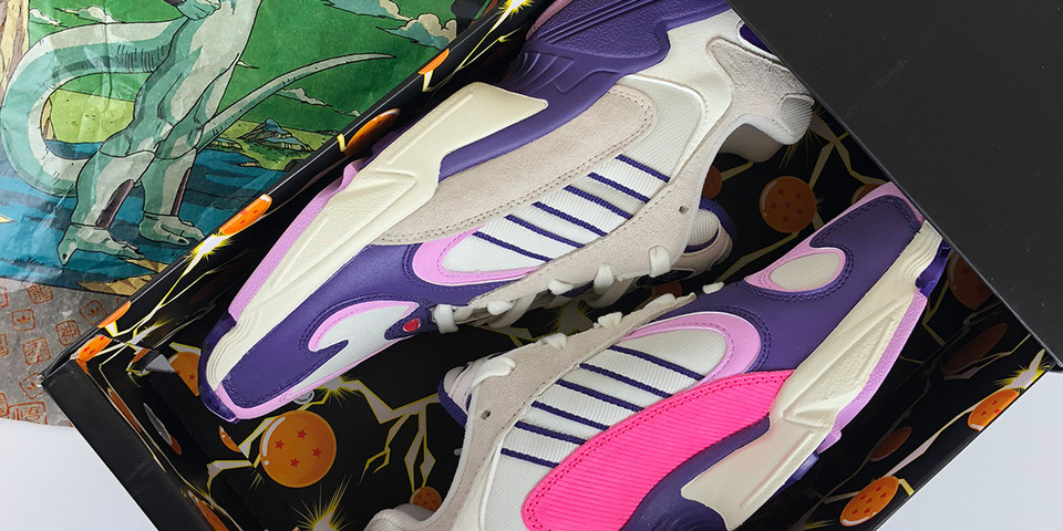 da62799ca6f8  Dragon Ball Z  x adidas Yung-1 Frieza Unboxing