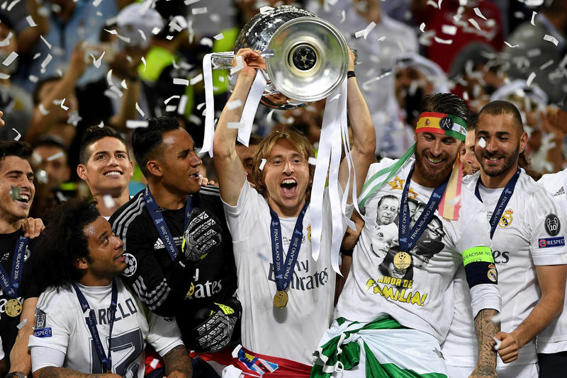 UEFA Third European Club Competition Plans 2021 Football Soccer Sports Champions League Tournament Europa Real Madrid Intertoto Cup Winners