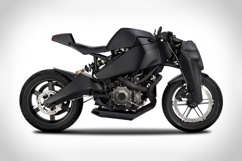 Uncrate Taps Ronin to Create a Custom Blacked-Out 47 Motorcycle